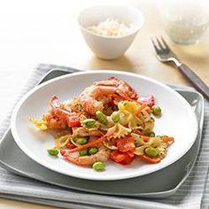 Easy Shrimp and Veggie Pasta Fresca Allrecipes.com