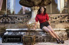 Prada red shirt, Prada leather sandals. Camicia rossa Prada, sandalo traforato Prada