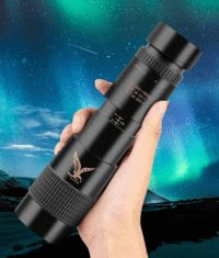 4K 300X Zoom Super Telephoto Monocular Telescope - JustNovo Smartphone, Camera Video Surveillance, Astronomical Telescope, Samsung Galaxy, Cool Gadgets To Buy, Luminous Flux, Night Vision, Bag Storage, Cool Things To Buy