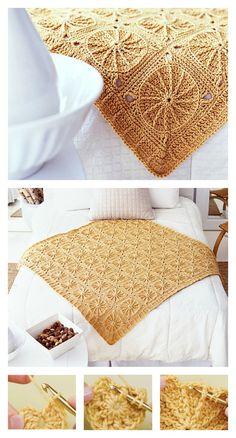 Sunny Spread Free Crochet Pattern