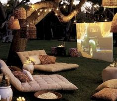 Backyard theatre #DIY