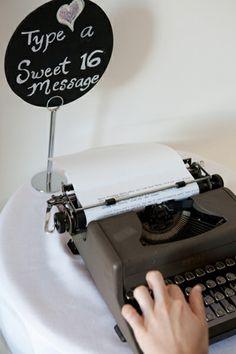 Sweet 16 idea