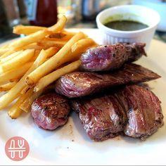 Flank steak with fries  @classifiedhk  #causewaybay #clasdified #hongkong #foodiechats