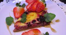 Helppo ja suht nopea makean vähähiilihydraattisen peruspiirakan ohje. Voit lisätä pohjaan makuja mausteilla esim kanelia jos teet omenapii... Keto, French Toast, Strawberry, Curry, Fruit, Breakfast, Food, Morning Coffee, Curries