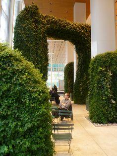 Urban Garden Room by Margie Ruddick, via Behance