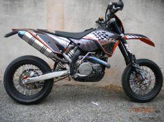 KTM exc 125 cc Kit déco perso !!