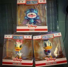 Disney Metals Metals Die Cast, Disney Stitch, Donald Duck, Diecast, Baseball Cards