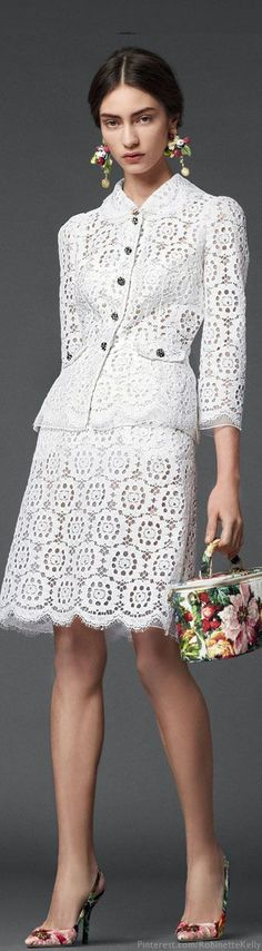 Dolce & Gabbana F/W 2014. I wouldn't wear the pieces together but separately?  Yeah.