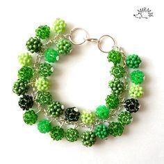 Ať žije zelená! Náramek -bracelet