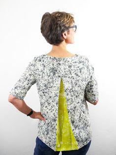 Frau Yoko oder die Liebe zur Kellerfalte Dress Patterns, Sewing Patterns, Sewing Blouses, Couture, Refashion, Capsule Wardrobe, Tees, Shirts, Sewing Projects