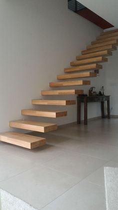 - Go Up ! Spiral Stairs Design, Stair Railing Design, Home Stairs Design, Cantilever Stairs, Metal Stairs, Modern Stairs, Interior Staircase, Stairs Architecture, Stone House Plans