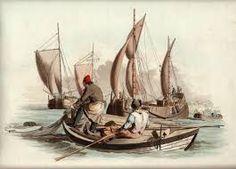 Afbeeldingsresultaat voor tekeningen en fotos van zee met man