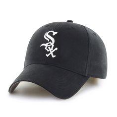 0b9afec41eb Chicago White Sox Mass Basic Home 47 Brand Adjustable Hat Chicago White  Sox