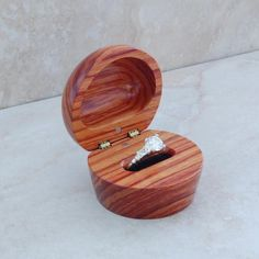 Wooden ring box! Please please please especially if a family member made it!