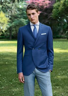 Get style inspiration from the Canali Formalwear collection. #wedding #ceremony #groom #sposo #matrimonio
