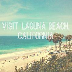 Visit Laguna Beach, California