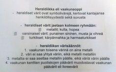 6. luokka piirustus  Heraldiikka (taustaa).
