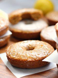 ... Poppy seed baked glazed Donuts - gluten free, grain free, dairy free