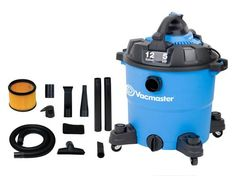 Vacmaster 2 in 1 Wet Dry vac with Detachable Blower for leaves.