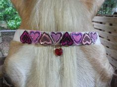 Sweet Hearts Browband for Miniature Horse Pony or by MyBuddyBling