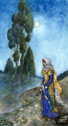 Niroot Puttapipat illustration for Quatrain 74 of the Rubaiyat of Omar Khayyam