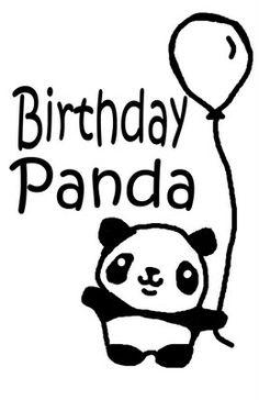 My Panda Bear is One! (and birthday panda shirt) ~ Creative Green Living