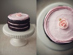 Cake baked & photographed by Athena Plichta (Miette cake challenge)