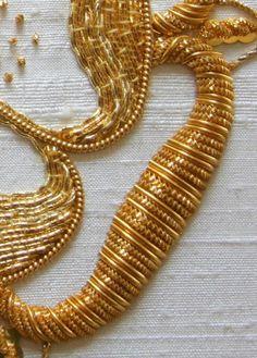 Goldwork: Up close – Needle Work