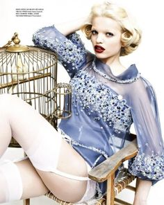Daphne Groeneveld Vogue Korea April 2012  24.04.2012
