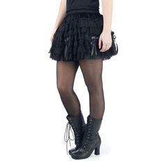 Burleska Kurzer Rock »Lolita Skirt«   Jetzt bei EMP kaufen   Mehr Gothic Kurze Röcke online verfügbar ✓ Unschlagbar günstig!