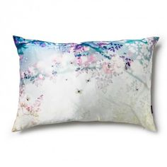 Fleurs Enchantées Jade Pillow