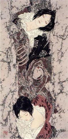 "For Secret Joy""by Takato Yamamoto."