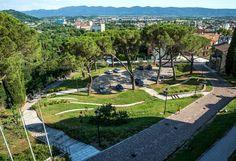 Seghizzi Square and the Burg of the Castle of Gorizia by Di Dato & Meninno « Landscape Architecture Works | Landezine