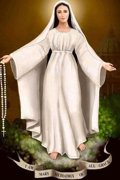 Holly Mary the mother of God Blessed Mother Mary, Divine Mother, Blessed Virgin Mary, Catholic Pictures, Jesus Pictures, Catholic Prayers, Catholic Art, Jesus Mary And Joseph, Saint Joseph