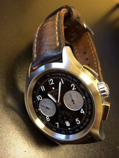 My Hamilton Aviator : H765160 : On Gunny strap : 44mm