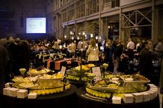 Buffet station @ corporate event / Zilli Hospitality Group