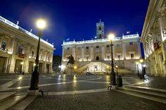 (Romantic Things to do in Rome – 6 Breathtaking Views) Campidoglio - the Perfect Place for an Italian Wedding Theme!