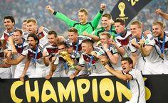 Germany 2014 World Cup winners