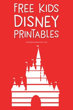 Magical & FREE Disney Printables For Kids They'll Love Kids Crafts free kids coloring crafts diy Disney Coloring Pages Printables, Disney Printables, Free Printables, Party Printables, Easter Printables, Printable Coloring, Printable Art, Disney Crafts For Kids, Paper Crafts For Kids