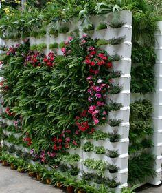 Jardineras de plastico - huerto urbano vertical set 3 macetas Minigarden