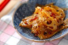レンコンのきんぴらのレシピ・作り方 - 簡単プロの料理レシピ   E・レシピ