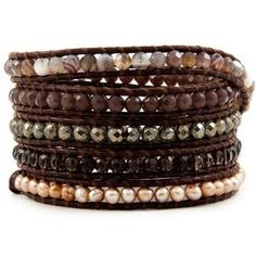 Chan Luu Champagne Pearl Mix Wrap Bracelet on Dark Brown Leather Chan Luu,http://www.amazon.com/dp/B00CEH6SZ8/ref=cm_sw_r_pi_dp_TL4rsb17E492YV6H