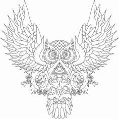 owl design 9 the body is a canvas owl tattoo designs free see Chest Tattoo Drawings, Owl Tattoo Chest, Chest Piece Tattoos, Tattoo Owl, Female Chest Tattoo, Free Tattoo Designs, Tattoo Design Drawings, Skull Tattoo Design, Tattoo Sketches
