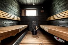 35 The Best Home Sauna Design Ideas You Definitely Like - No matter what you're shopping for, it helps to know all of your options. A home sauna is certainly no different. There are at least different options. Sauna Steam Room, Sauna Room, Basement Sauna, Saunas, Sauna Kits, Sauna House, Sauna Design, Outdoor Sauna, Spa Rooms
