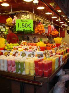 Barcelona food market!