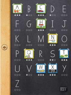iPad App:   Handwriting Without Tears: Wet-Dry-Try Capital Letters & Numbers  By Handwriting Without Tears & Get Set for School