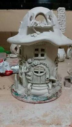 Good No Cost air dry Clay fairy Popular 87 Favourite Diy Polymer Clay Fairy Garden Ideas Diy Clay, Air Dr Polymer Clay Fairy, Polymer Clay Projects, Diy Clay, Clay Fairy House, Fairy Houses, Garden Houses, Clay Houses, Miniature Houses, Miniature Dolls