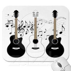 Pop art guitarras acústicas   Zazzle.com.br