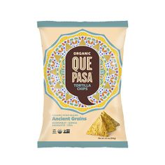 Que Pasa Organic Tortilla Chips  ~ Ancient Grains