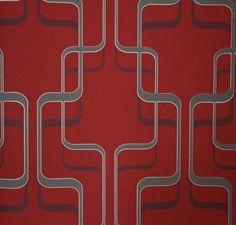 Tapete 789935 Rasch Tapeten Spice Up 2013 Retro rot beige grafisch Vliestapete Vintage Design von Rasch, http://www.amazon.de/dp/B005CSOD0S/ref=cm_sw_r_pi_dp_6EDYrb0J28F29